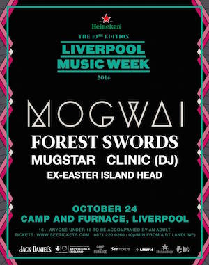 Mogwai: Camp And Furnace, Liverpool – live review