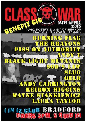 Event Preview: Bradford Class War Benefit Gig