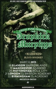 Dropkick Murphys announce 'Celtic Punk Invasion' tour inc two St Patrick's Day gigs in Dublin…