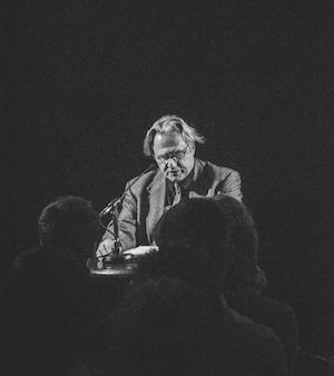 Gerard Malanga: The Poetry Club, Glasgow – live review by BMX Bandit Duglas T. Stewart