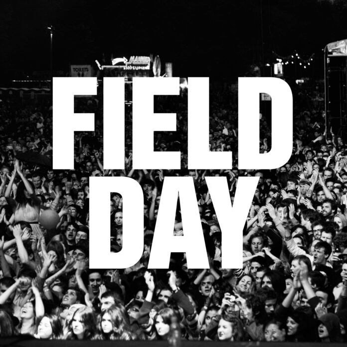 Field Day logo black and white