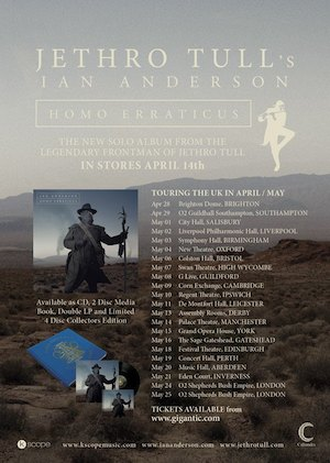 Ian Anderson: Palace Theatre, Manchester – live review