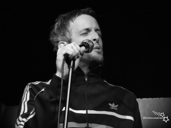 JB Barrington: Woodchip, Anaglypta and Nicotined Artex Ceilings: Salford Arts Theatre – live review