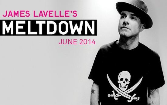 First Names Announced For James Lavelle's Meltdown