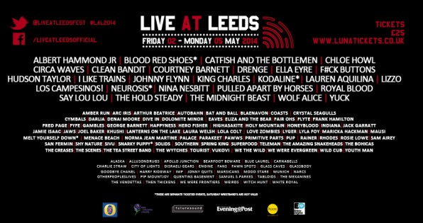 Live At Leeds 2014 – First Bands Announced