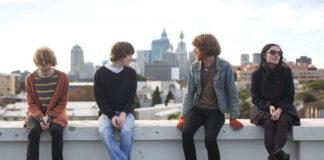 The Laurels on a rooftop press shot