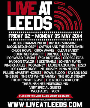 Live At Leeds 2014 – This weekend, tickets still available