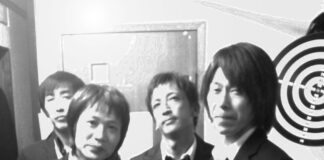 The Lost Numbers black and white band photo