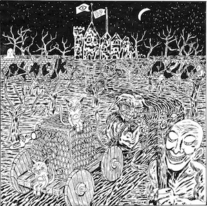 Stream / download the track Blood Will Run by Black Pus off his split LP w/ Oozing Wound