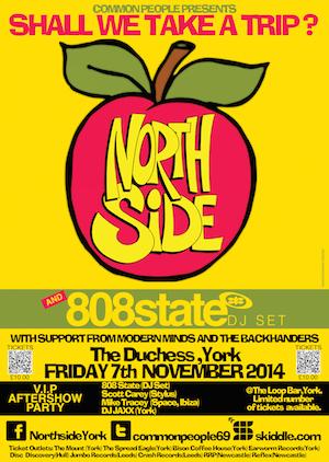 Northside 808 State (Dj Set) And V.I.P Afterparty Ticket Giveaway