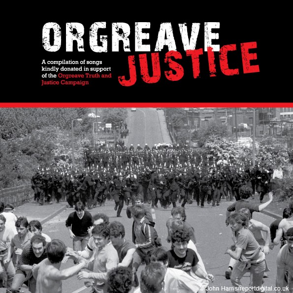 Orgreave Truth and Justice CD Out Now feat. Paul Heaton, Sleaford Mods, TV Smith, Billy Bragg and more