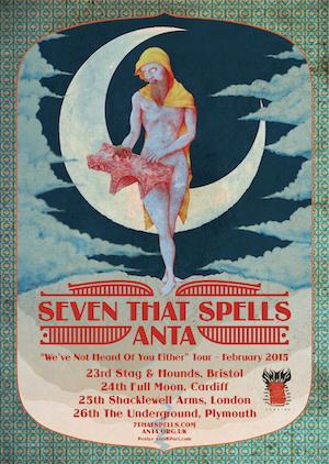 Bristolian Space Rock Quartet ANTA Drop New Video / Announce Tour With Croatian Psych Giants Seven That Spells