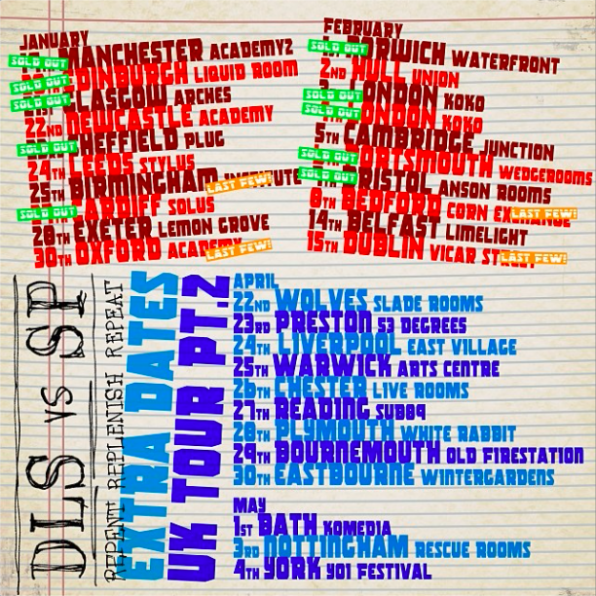 Dan le sac Vs. Scroobius Pip: Leeds Stylus, Leeds – live review