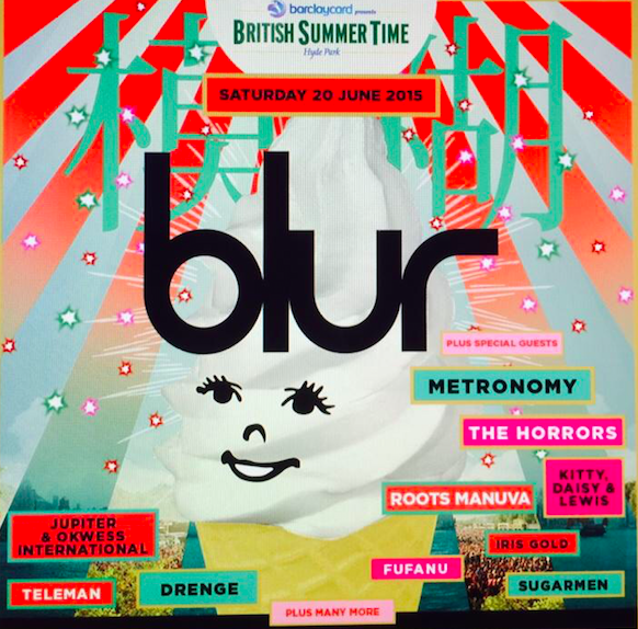Blur announce great support bill for June 20 Hyde Park gig