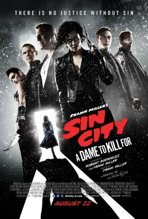 Sin City: A Dame to Kill For – film review