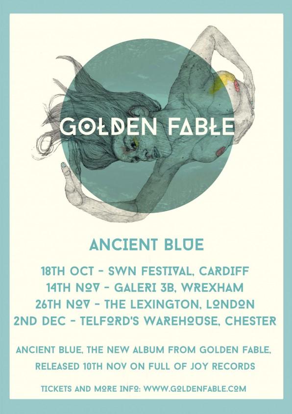 Golden Fable Release New Album Ancient Blue