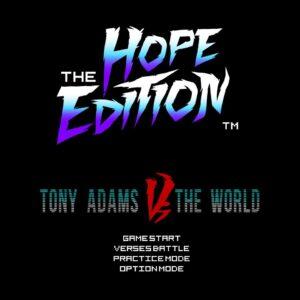 The Hope Edition: Tony Adams vs The World – single review