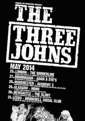 Three Johns postpone tour because of cancer scare