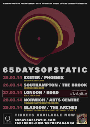 65daysofstatic Perform The Fall Of Math: Koko, London – live review