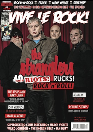 New Issue Of Vive Le Rock Magazine – Stranglers Front Cover
