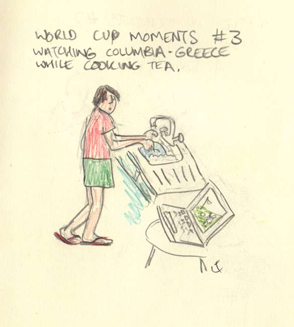 The World Cup – In Pictures (With music and Ukulele's, obviously)