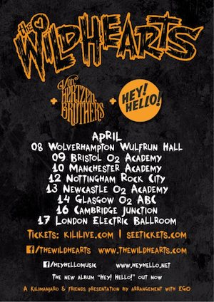 The Wildhearts: Manchester Academy and Nottingham Rock City – live review