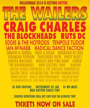 Willowman Festival Announces Bill – 'A Great Punk Reggae Party'