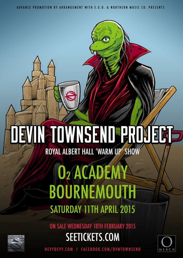 Ziltoid Goes To The Seaside – Devin Townsend Project Confirm Bournemouth Warm-Up Gig