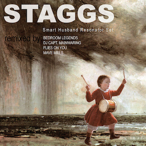 STAGGS – The oddball Leeds pop / punk manglers have just released two new EPs