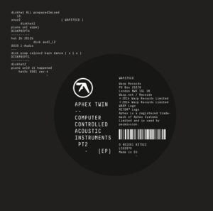Aphex Twin: Computer Controlled Acoustic Instruments pt2. – EP review
