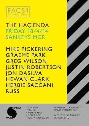 Hacienda to throw special Easter party in Manchester