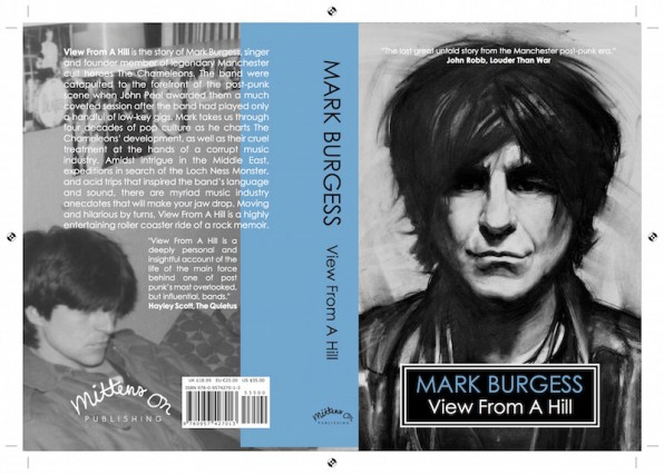 View From A Hill by Mark Burgess – news related to the publication of the definitive version of the book about the Chameleons front person