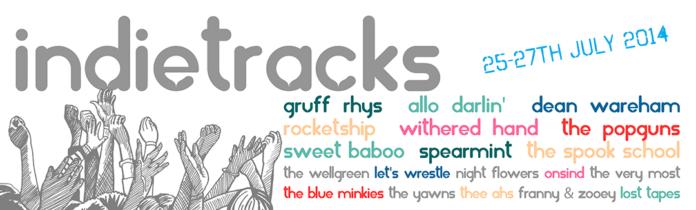 Indietracks banner 2014