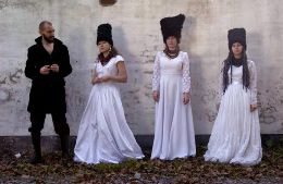 new artist of the day : Dakha Bakha : Ukrainian folk for the 21st century