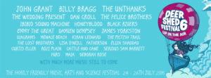 Deer Shed Festival line up 2015