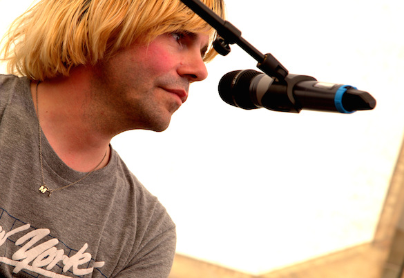"""Barnaby  Festival: Macclesfield – festival photo review featuring a Tim Burgess / Stephen Morris """"in conversation"""""""