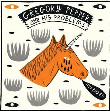 Gregory Pepper and His Problems EP cover