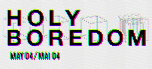 New Festival Alert and Preview: Holy Boredom, Cardiff