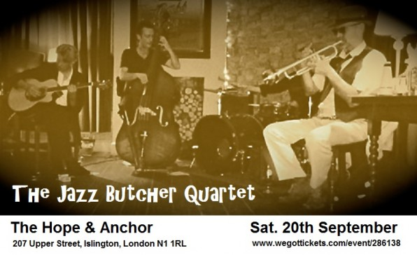 The Butch is Back… the return of The Jazz Butcher!