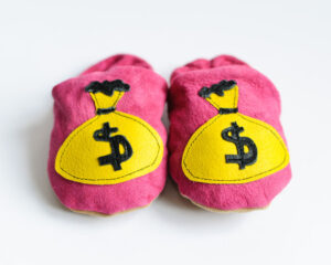 fab merch! someone has made Teenage Fan Club 'Bandwagonesque' slippers!
