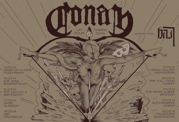Fearsome Liverpudlian Doomsters Conan Drop New Video – and add date to previously announced tour