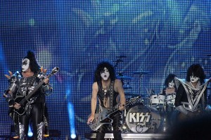 Gene Simmons of rock panto band Kiss says that 'the poor have to be thankful for the rich'