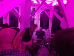 Tower Power! Membranes play at the top of Blackpool Tower- report