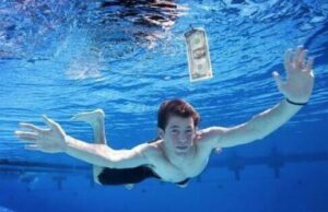 LOOK AT THIS! the baby on the Nirvana Nevermind album cover is now 23-