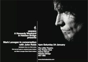 Mark Lanegan announces Jan UK tour and exclusive in conversation with LTW boss  John Robb