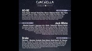 Coachella announce full line up- classic rock! AC/DC!