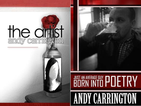 The Artist / Just an Average Guy Born into Poetry by Andy Carrington – book review