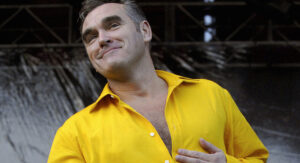 Morrissey refuses to sign autograph because he has 'ebola'