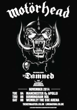 Motorhead, The Damned and The BossHoss: Manchester Apollo