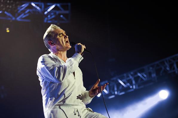 Morrissey | Anna Calvi: O2 Arena, London – photo review